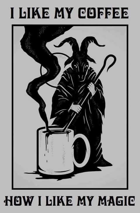 satan, coffee memes