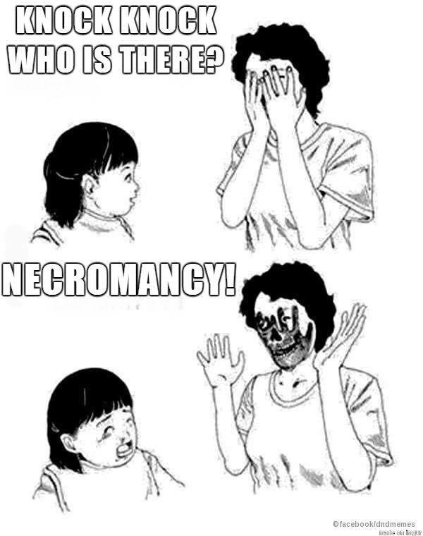 necromancy memes